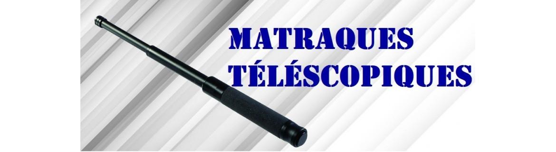 Matraques telescopiques - Batons de defense - Tonfas - STUNGUN